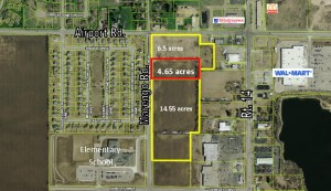 Aerial for 4.65 acres